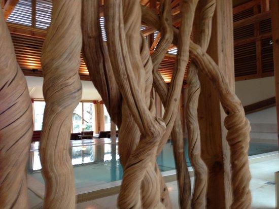 Martillac, France: Le Spa avec sa piscine chauffer