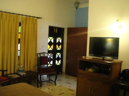 Hotel Rawalkot Jaisalmer:                   Our room.