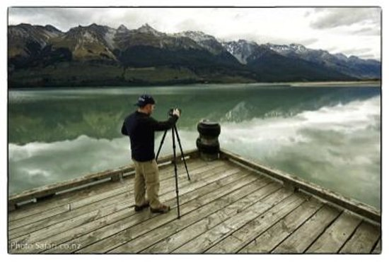Queenstown Center for Creative Photography Day Workshops:                                     Jackie's capture of me making a photo