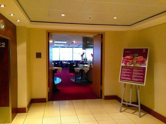 Restaurant Flavors :                                     Entrance
