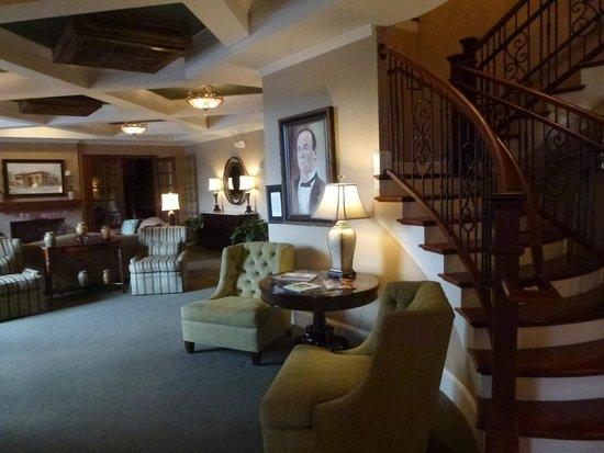 Bleckley Inn:                   The Lobby