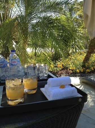 Conrad Algarve: Refreshing drinks