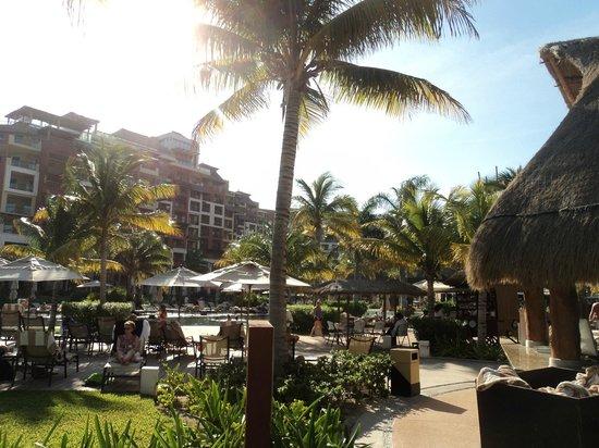 Villa del Palmar Cancun Beach Resort & Spa:                   Pool Area