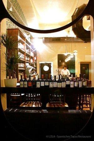 Lola Spanisches Tapas Restaurant: Wein