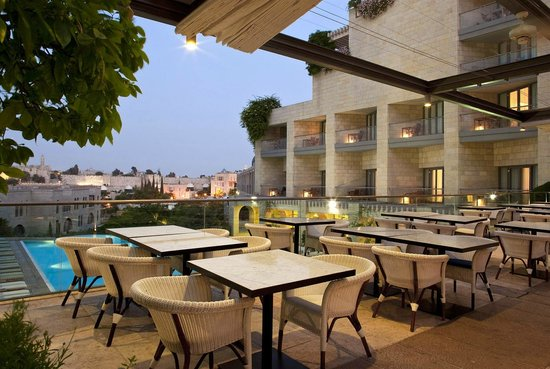 David Citadel Hotel: Terrace