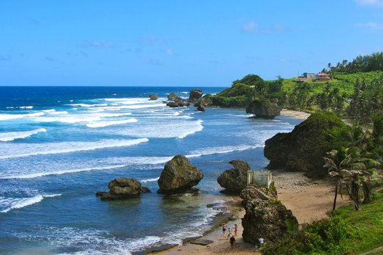 bathsheba beach - barbados