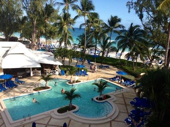 Turtle Beach by Elegant Hotels:                   vista do quarto