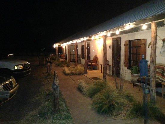 Eleven Inn:                   Hotel grounds
