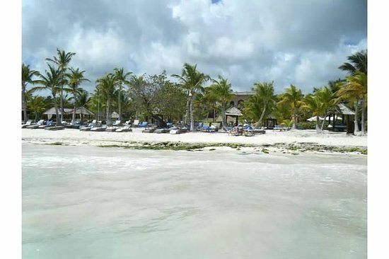 Sanctuary Cap Cana by AlSol :                                                       Looking at beach from the water