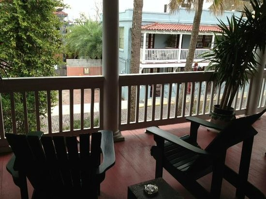 Inn On Charlotte:                   Henry Flagler's Verandah