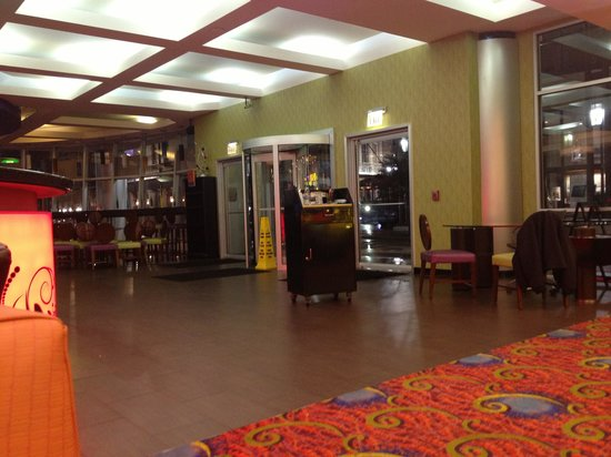 Royal St Charles Hotel:                                     Lobby area