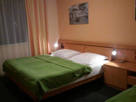Archibald City: Habitación con cama doble