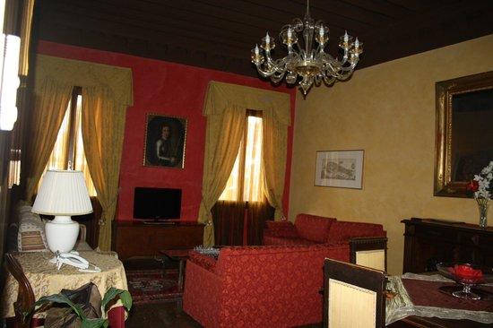 Residence Palazzo Odoni:                   Soggiorno