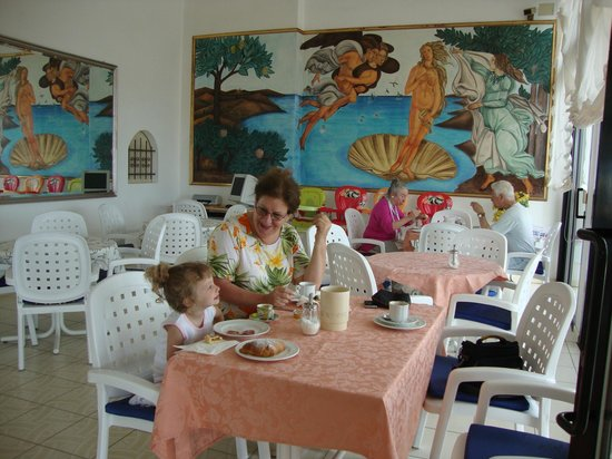 Residence Hotel Rex : Parte sala interna delle colazioni