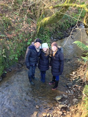 Robin Hill Farm Cottages:                                     RIVER EXPLORING