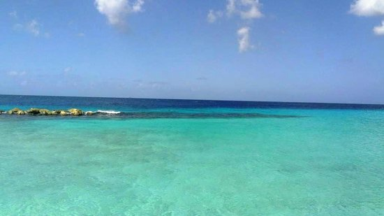 Curacao Marriott Beach Resort & Emerald Casino:                   the beach