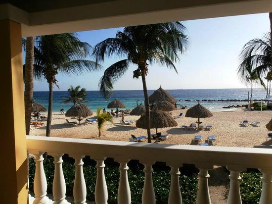 Curacao Marriott Beach Resort & Emerald Casino:                   view from the room