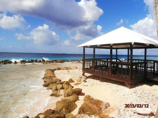 Curacao Marriott Beach Resort & Emerald Casino:                   the beach area