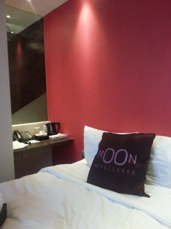 Moon 23 Hotel: view from bed
