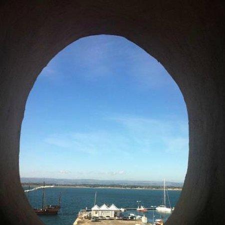 b&b porta marina: panorama dalla camera 201