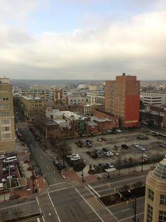 Richmond Marriott :                   View from the 14th floor