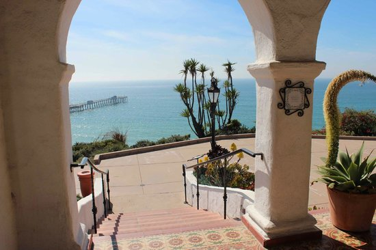 Casa Romantica Cultural Center and Gardens:                   View cannot be beat