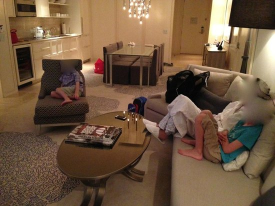 The St. Regis Bal Harbour Resort :                   In suite family movie