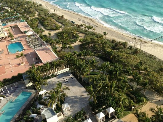 The St. Regis Bal Harbour Resort :                   View from the balcony