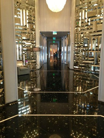 The St. Regis Bal Harbour Resort:                   Lobby area