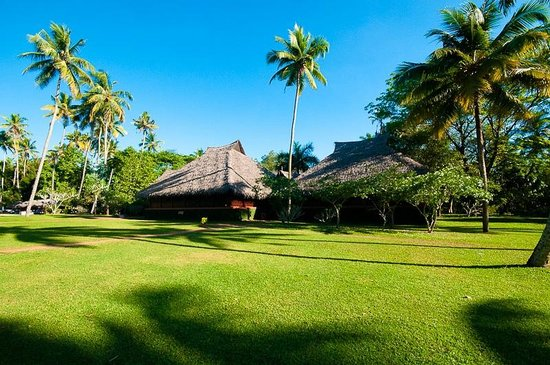 Marari Beach Resort:                   Restaurant in grounds