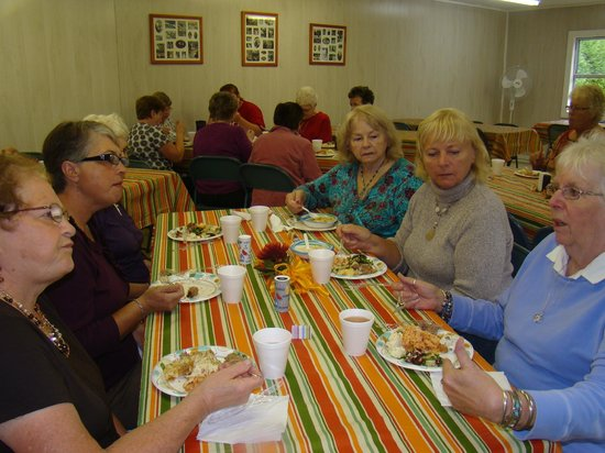 Timberland Acres RV Park: Ladies Monthly Potluck Lunck