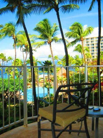 The Westin Maui Resort & Spa:                   4th floor Ocean tower facing pool and ocean