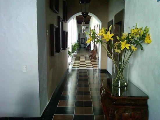 Hotel Layseca:                   Saliendo de mi habitación