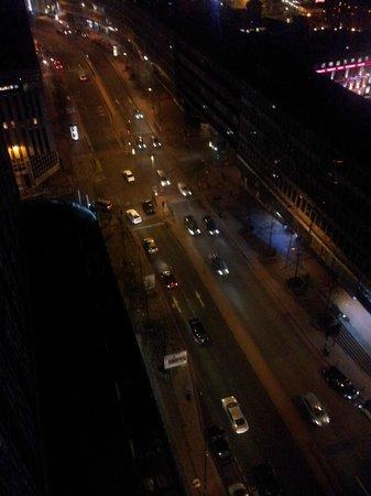 Radisson Blu Hotel, Birmingham:                   view