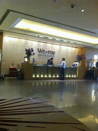 The Westin Grande Sukhumvit:                   lobby