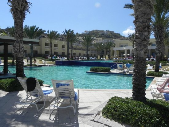 The Westin Dawn Beach Resort & Spa, St. Maarten:                   Pool