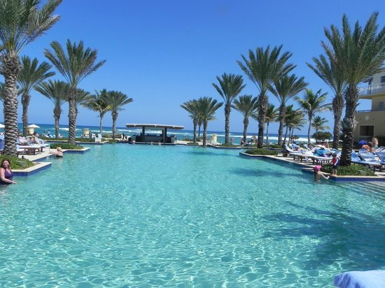 The Westin Dawn Beach Resort & Spa, St. Maarten:                   Infinity Pool