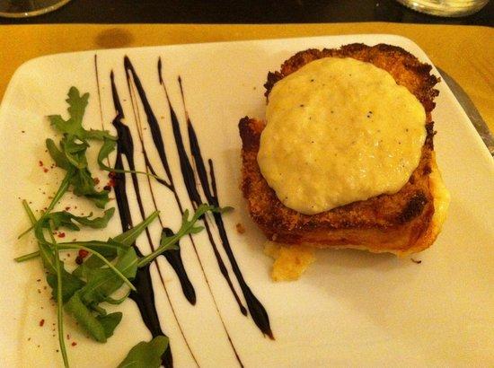 Garibaldi:                   potato gateau