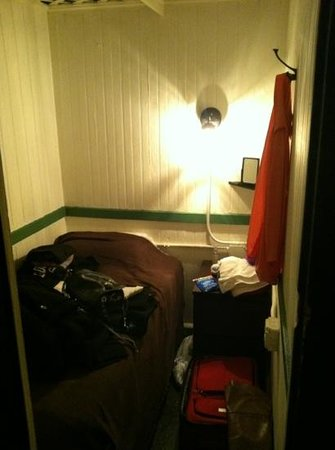 The Bowery House:                   smallest room I have ever seen. I don't recommend it