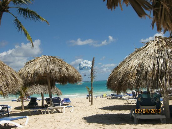Punta Cana Princess All Suites Resort & Spa:                   On the beach
