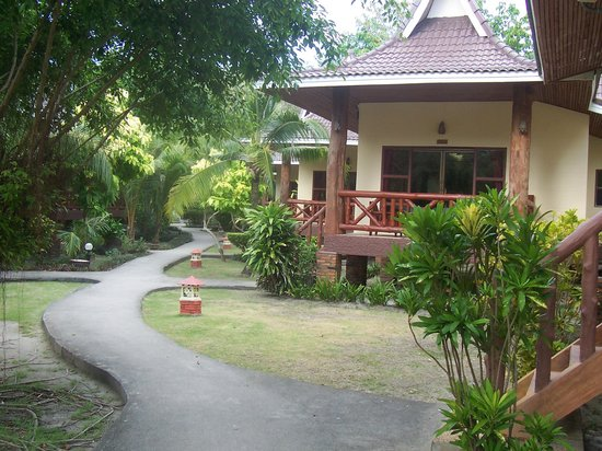 Phi Phi Villa Resort:                   Our villa