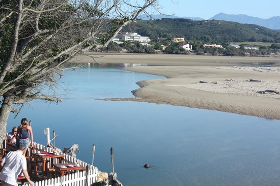 Milkwood Manor on Sea:                   Blick aufs Meer