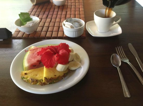 Manala Hotel: Included Breaky