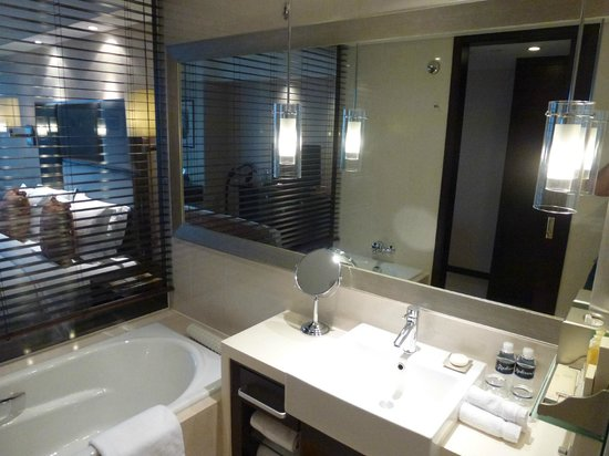Radisson Blu Hotel Shanghai Hong Quan:                   La salle de bain