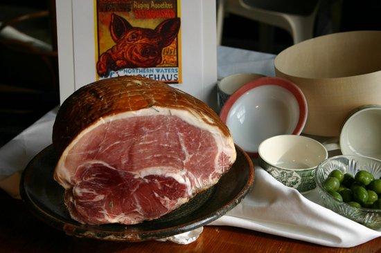 Northern Waters Smokehaus: smoked Berkshire ham.