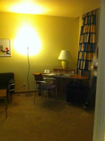 Regency Suites Hotel Budapest:                   soggiorno
