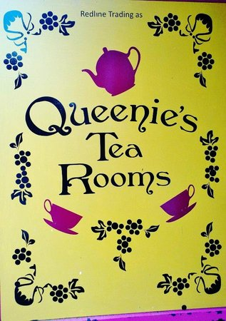 Queenies Tea Room:                   x