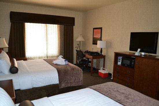 Best Western Plus Bryce Canyon Grand Hotel : Comfy rooms/beds