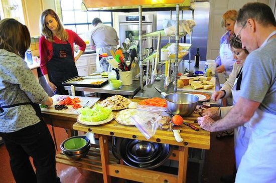 Blair House Inn: Get hands-on experience at our nationally recognized Cooking School