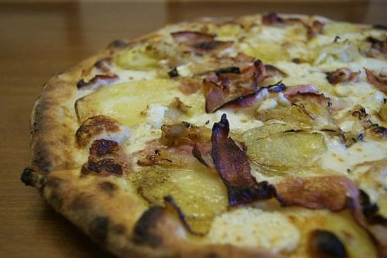 Evviva Woodfired Pizza: POTATO/PANCETTA